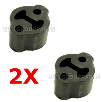 2 x VOLKSWAGEN SHARAN 1.8,1.9,2.0, 2.8 REAR EXHAUST RUBBER MOUNT HANGER MOUNTING